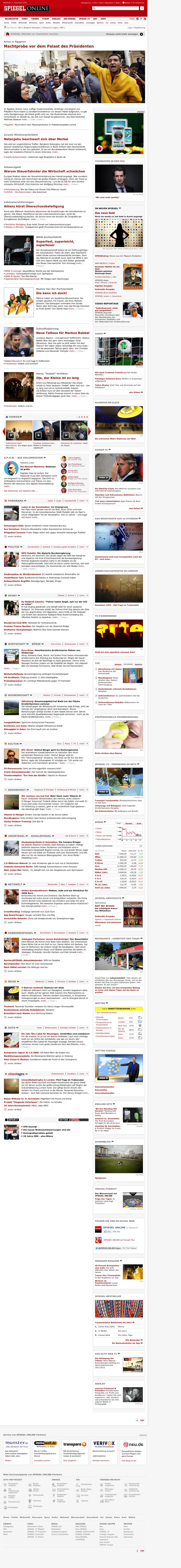 Spiegel Online at Wednesday Dec. 5, 2012, 3:42 p.m. UTC