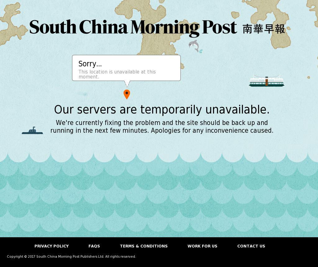 South China Morning Post at Monday Sept. 4, 2017, 3:19 p.m. UTC