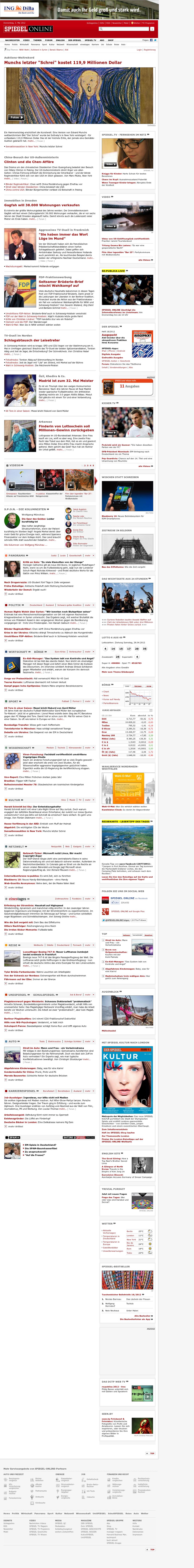 Spiegel Online at Thursday May 3, 2012, 3:11 a.m. UTC