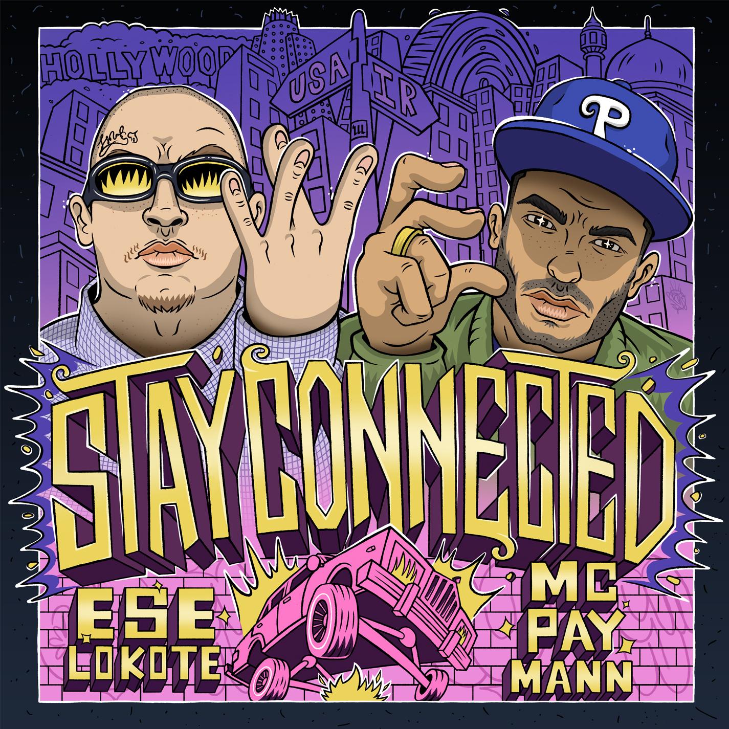 دانلود موزیک جدید و بسیار زیبای Mc Pay Mann و Ese Lokote به نام Stay Connected