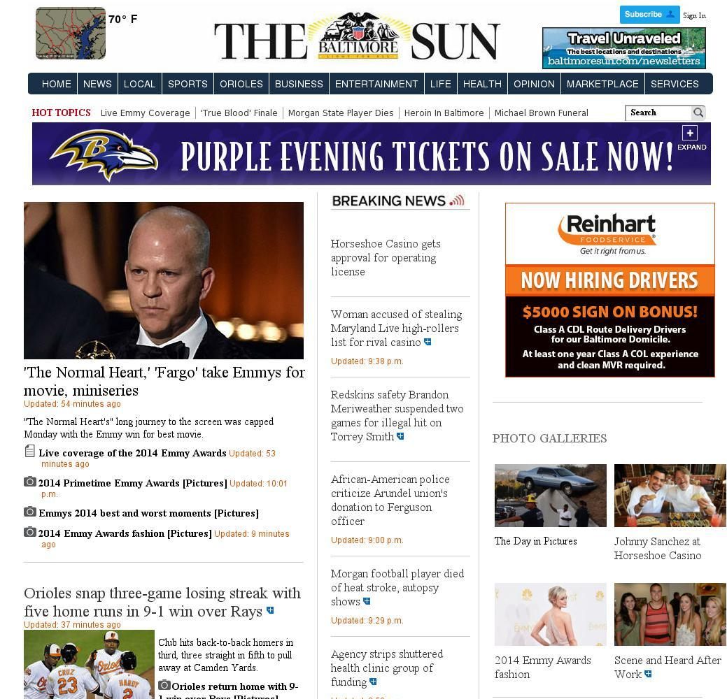 The Baltimore Sun