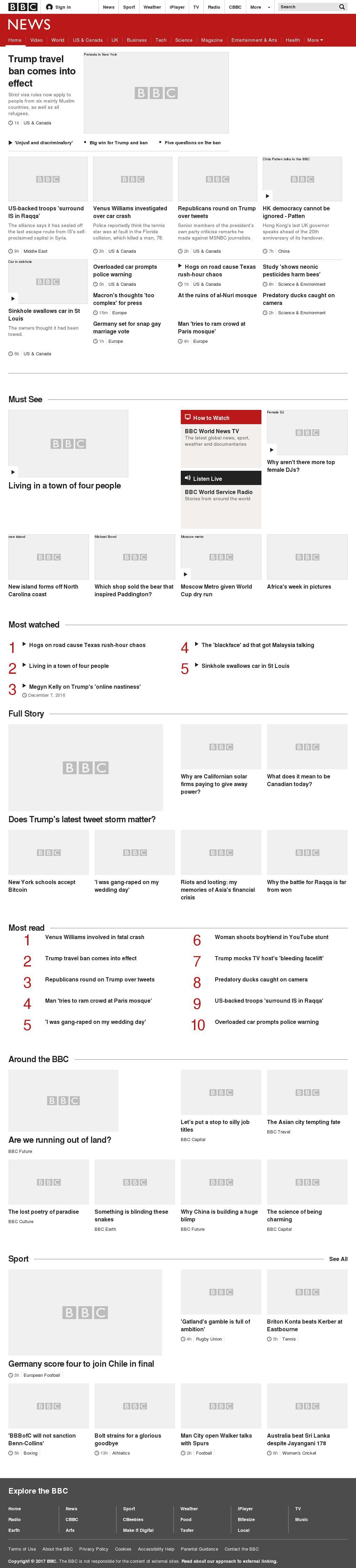 BBC at Friday June 30, 2017, 2 a.m. UTC