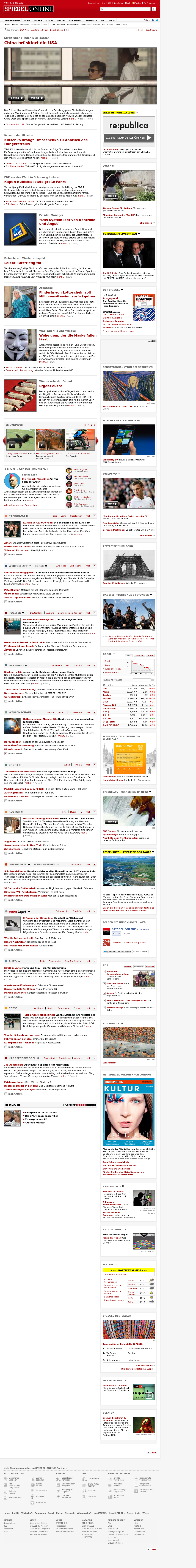 Spiegel Online at Wednesday May 2, 2012, 3:12 p.m. UTC