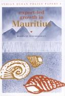 Export-led growth in Mauritius by Berhanu Woldekidan