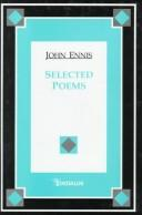 Selected poems by Ennis, John
